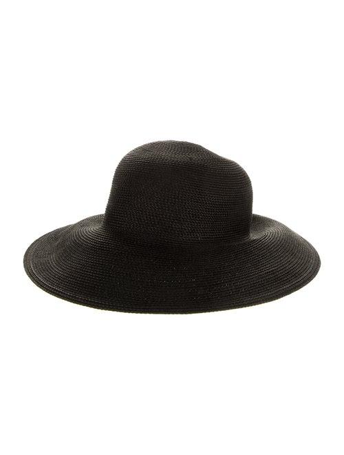 Eric Javits Raffia Sun Hat Black