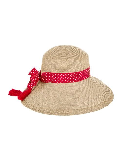 Eric Javits Wide Brim Hat Tan