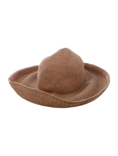 Eric Javits Raffia Wide Brim Hat