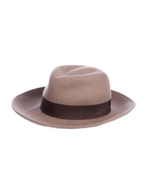 Eric Javits Felt Fedora Hat brown