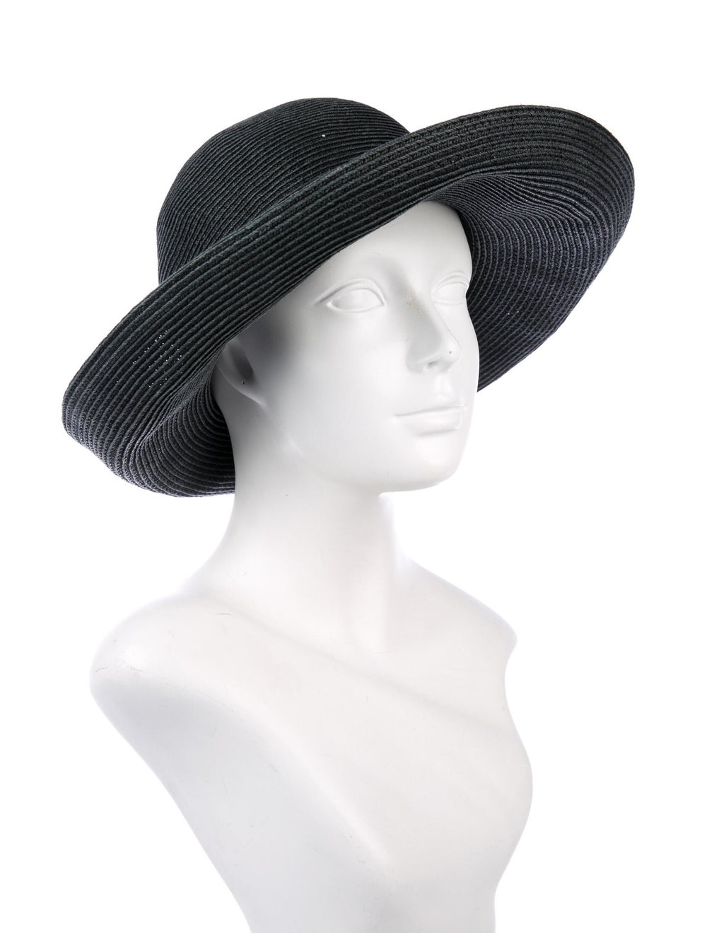 Eric Javits Wide Brim Hat Grey - image 3
