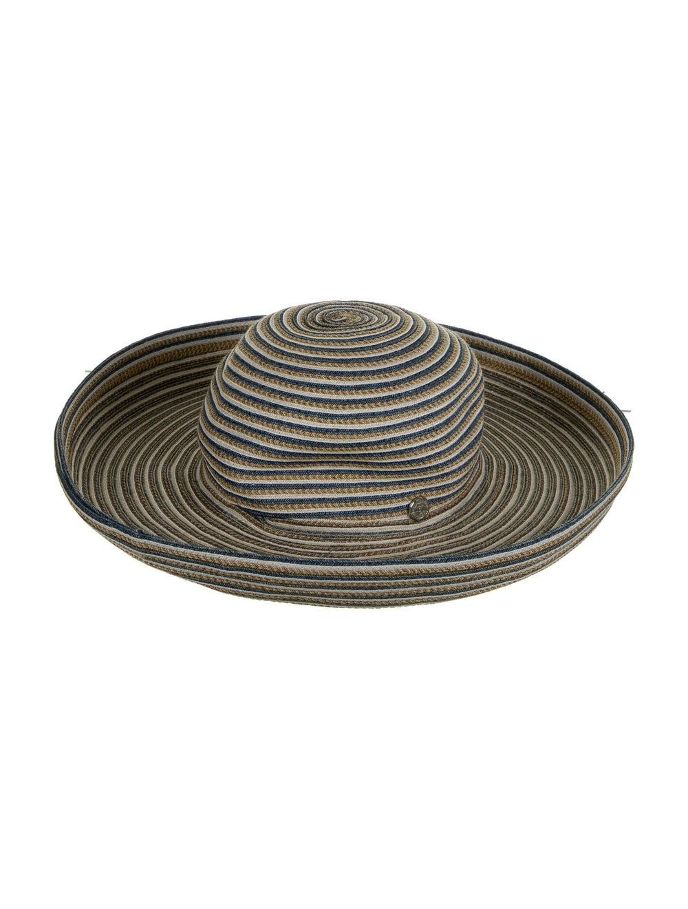 Eric Javits Margot Straw Hat Blue - image 1