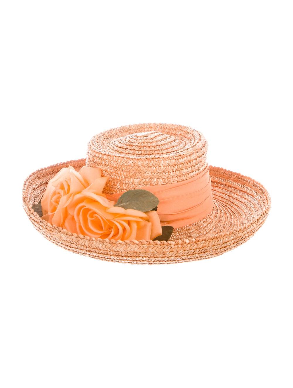 Eric Javits Straw Wide Brim Hat - image 2