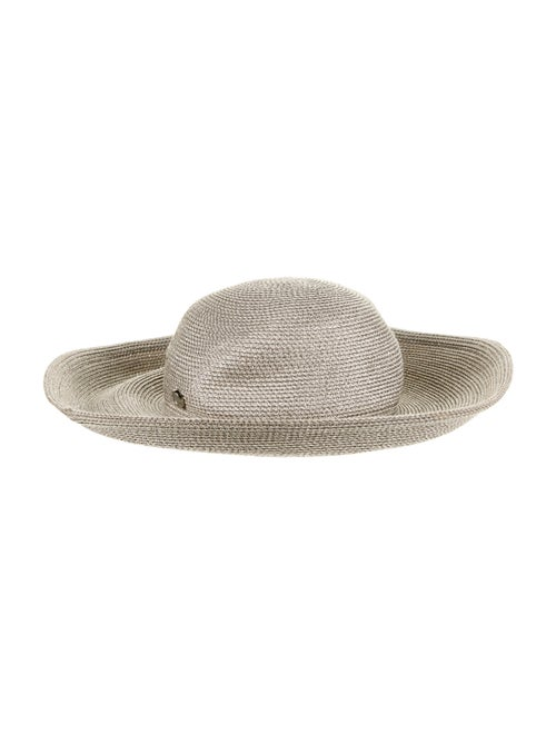 Eric Javits Straw Sun Hat metallic - image 1