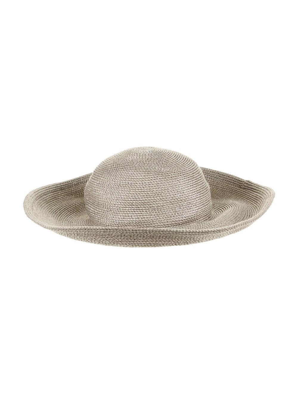 Eric Javits Straw Sun Hat metallic - image 2