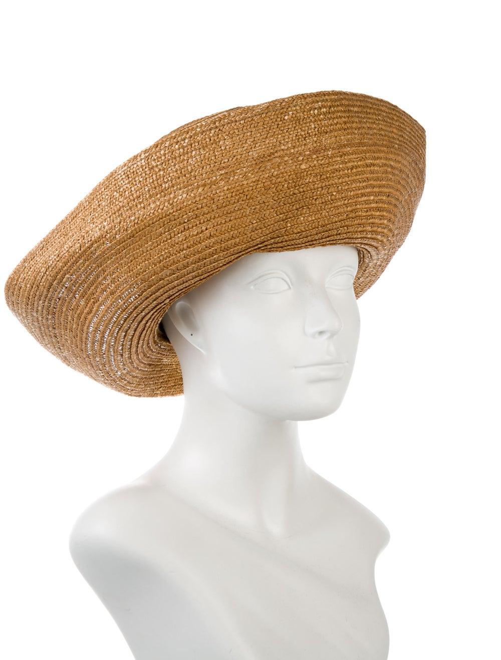Eric Javits Straw Sun Hat Tan - image 3