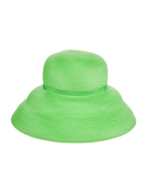 Eric Javits Eric Javits Wide brim Fedora Hat Green - image 1
