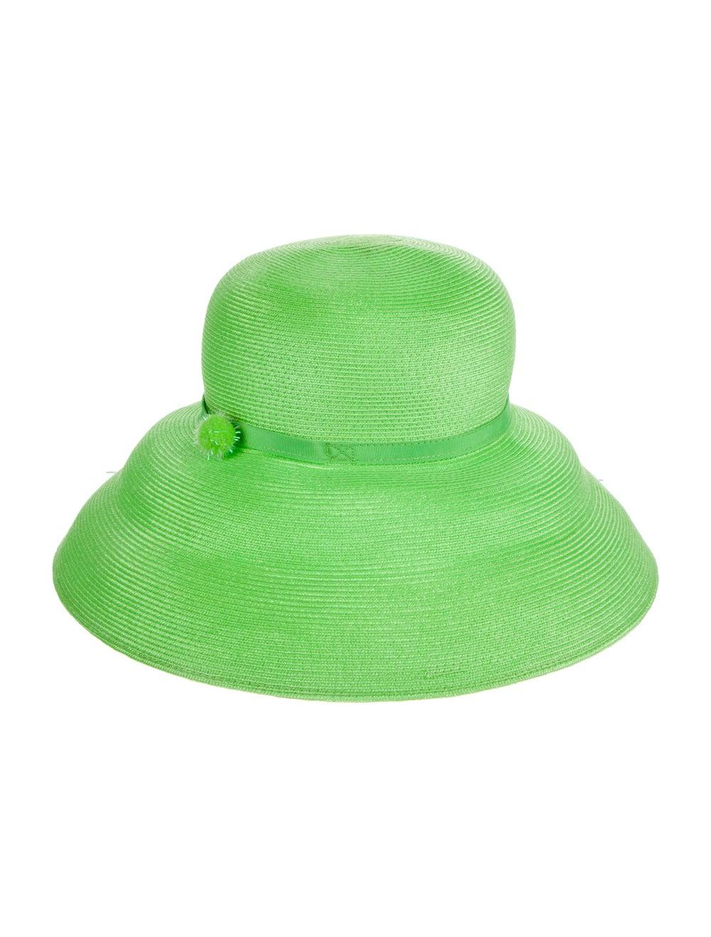 Eric Javits Eric Javits Wide brim Fedora Hat Green - image 2
