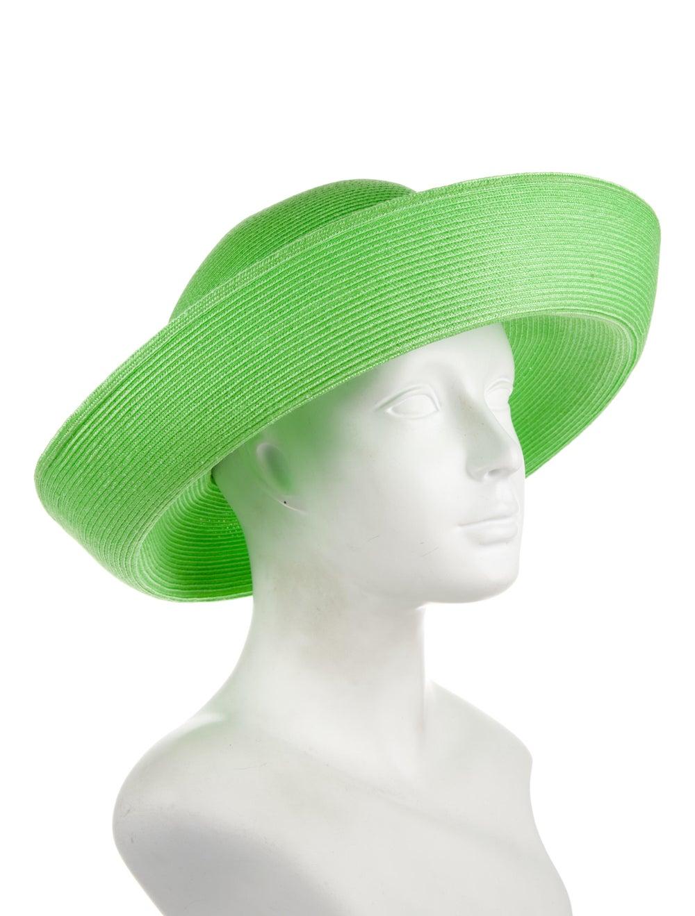 Eric Javits Eric Javits Wide brim Fedora Hat Green - image 3