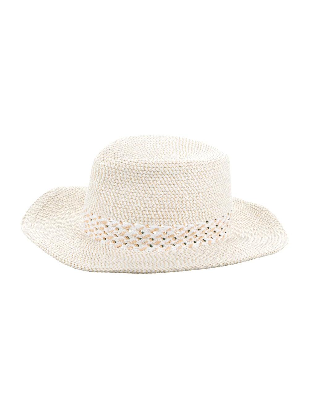 Eric Javits Woven Straw Hat white - image 1