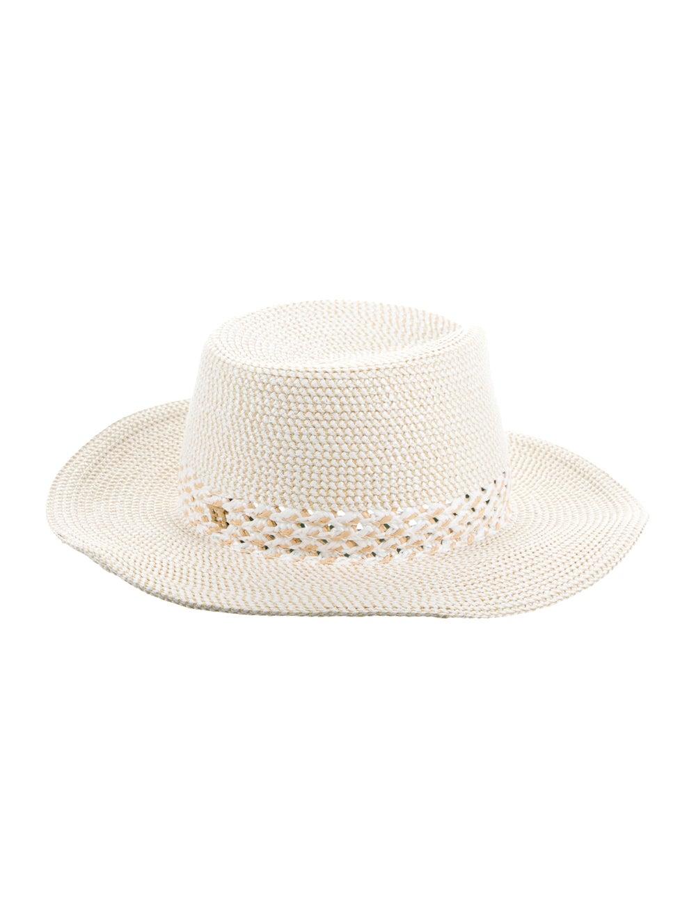 Eric Javits Woven Straw Hat white - image 2