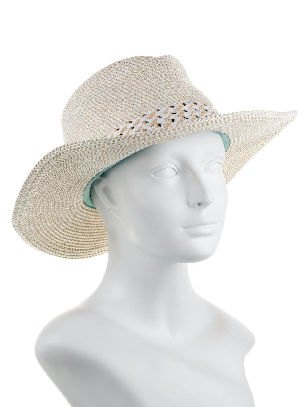 Eric Javits Woven Straw Hat white - image 3