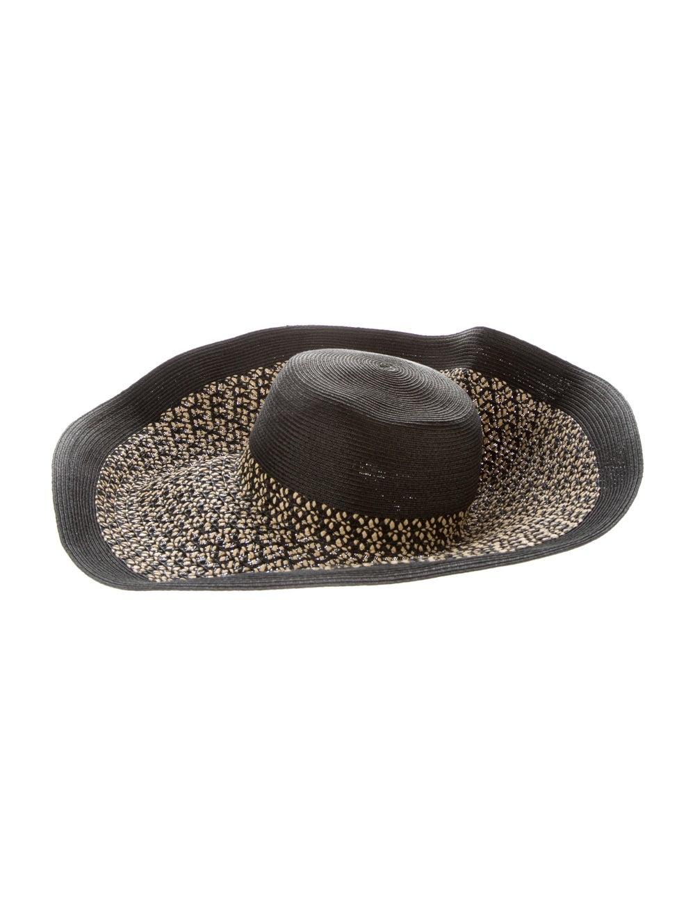 Eric Javits Wide Brim Straw Hat Natural - image 1