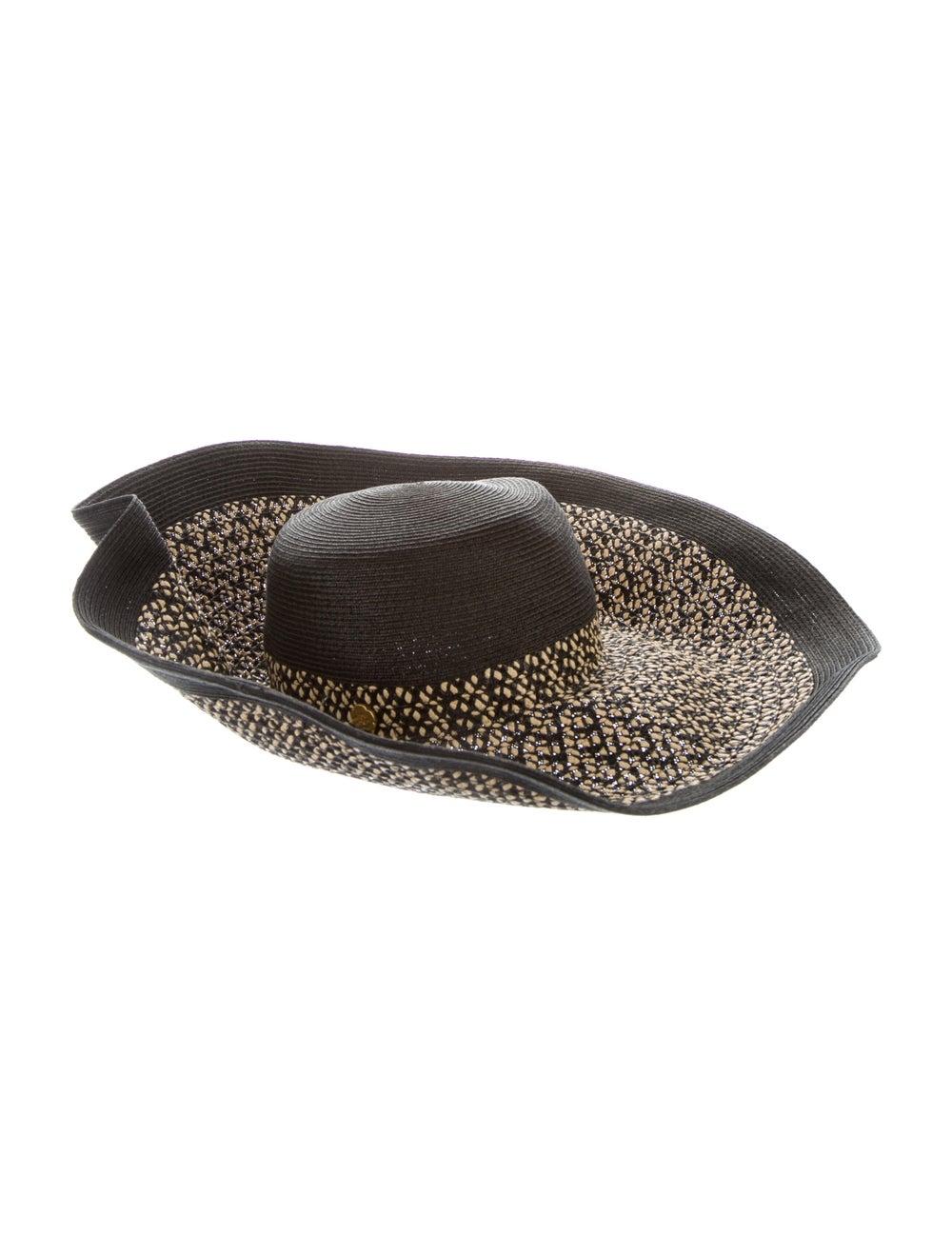 Eric Javits Wide Brim Straw Hat Natural - image 2