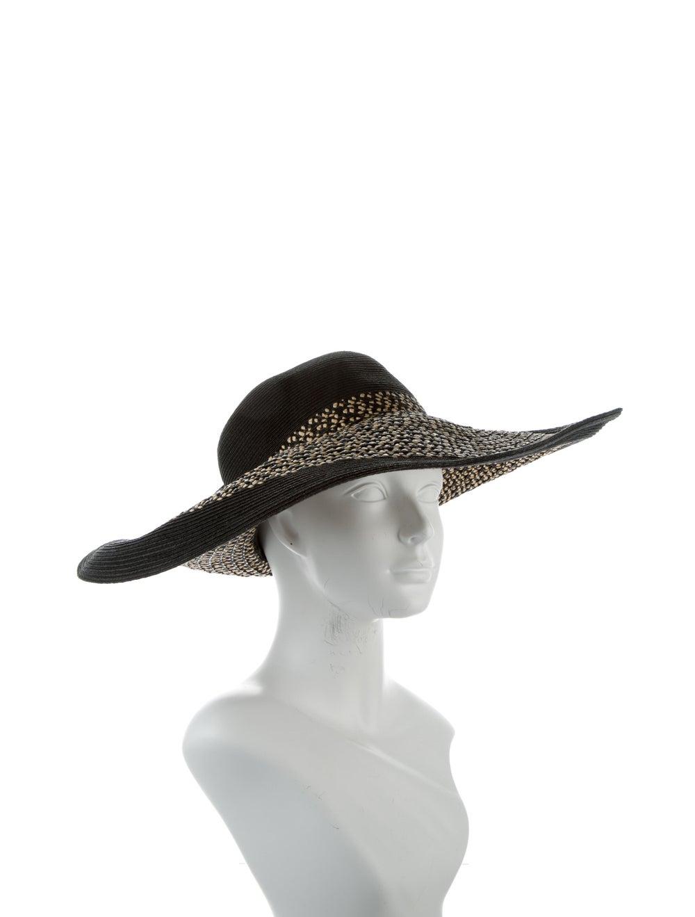 Eric Javits Wide Brim Straw Hat Natural - image 3