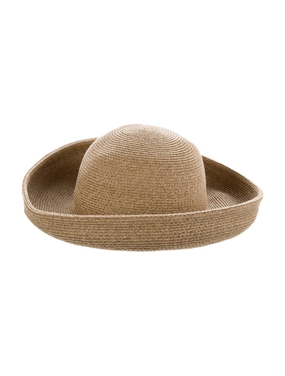 Eric Javits Straw Wide-Brim Hat - image 1
