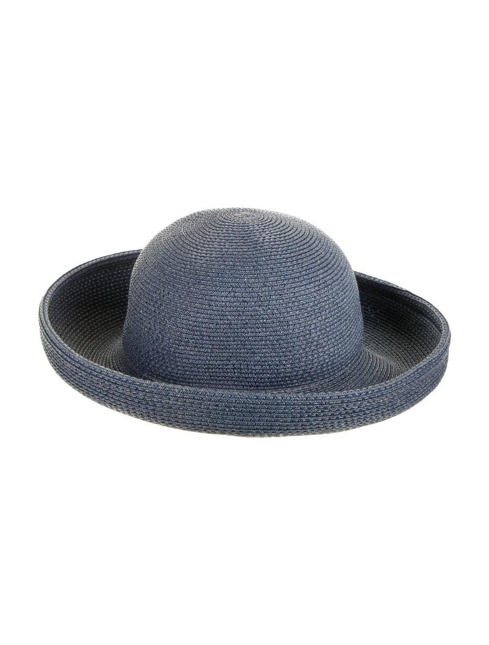 Eric Javits Wide Brim Hat Blue - image 1