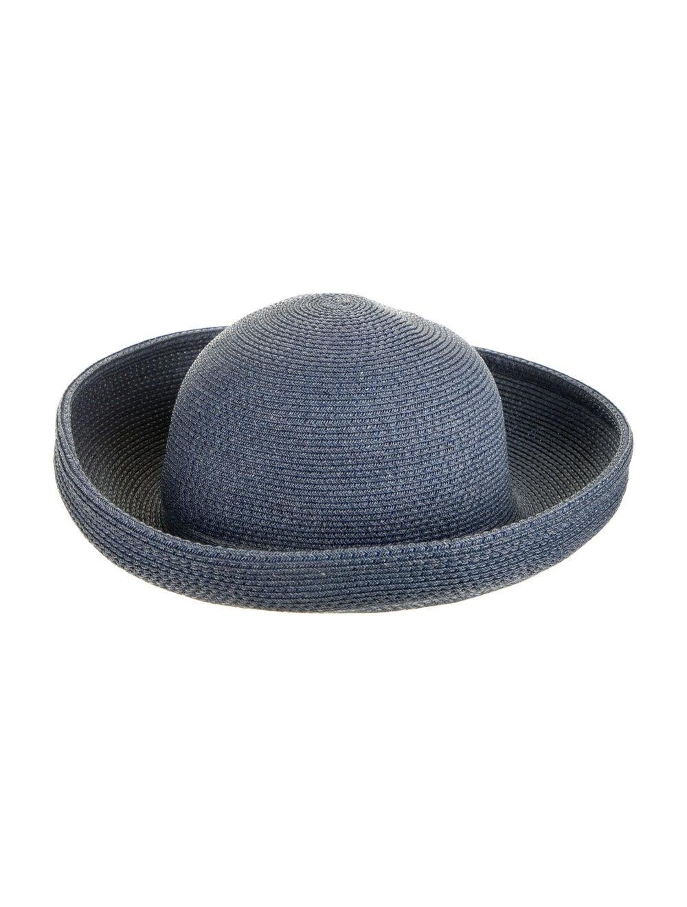 Eric Javits Wide Brim Hat Blue - image 2