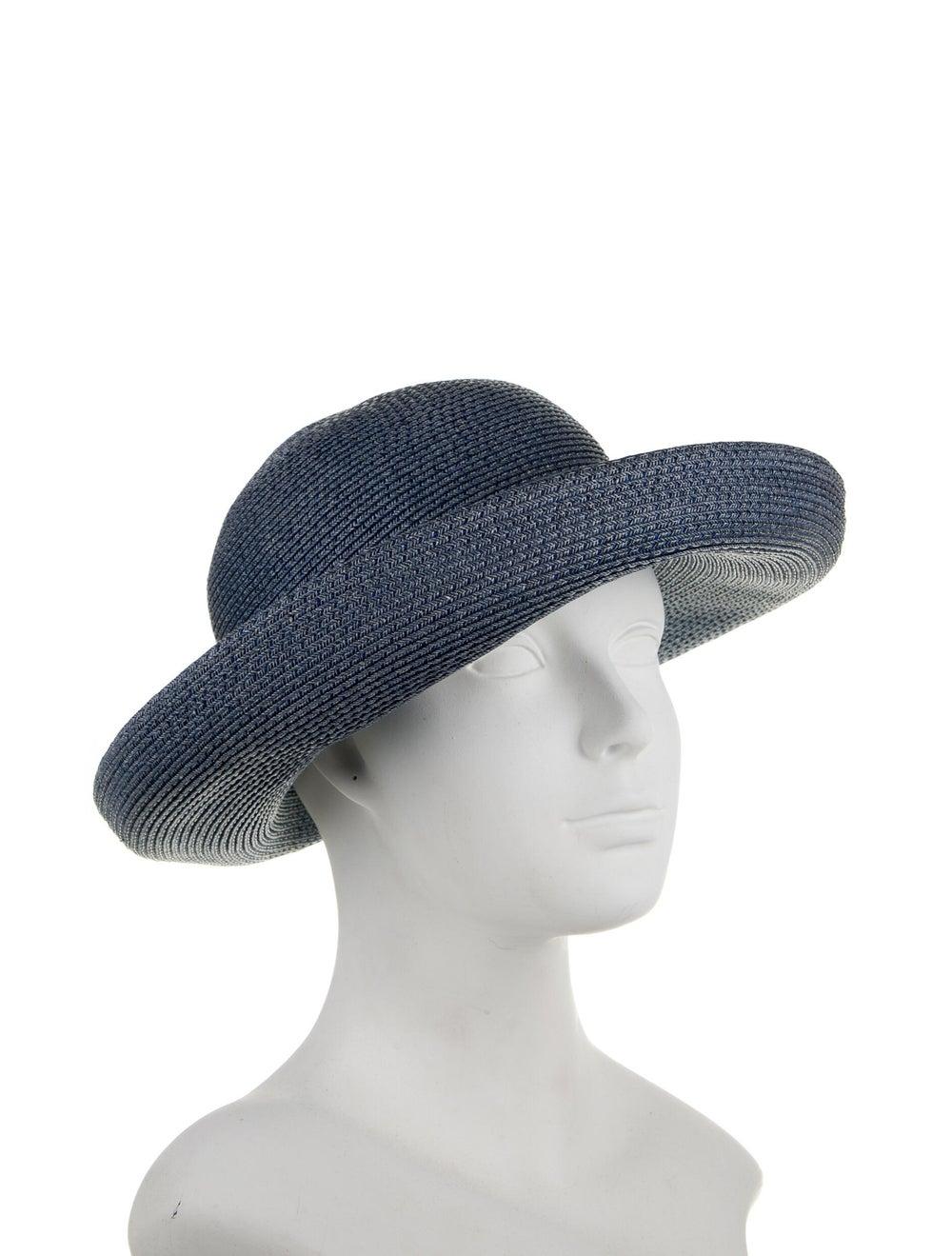 Eric Javits Wide Brim Hat Blue - image 3