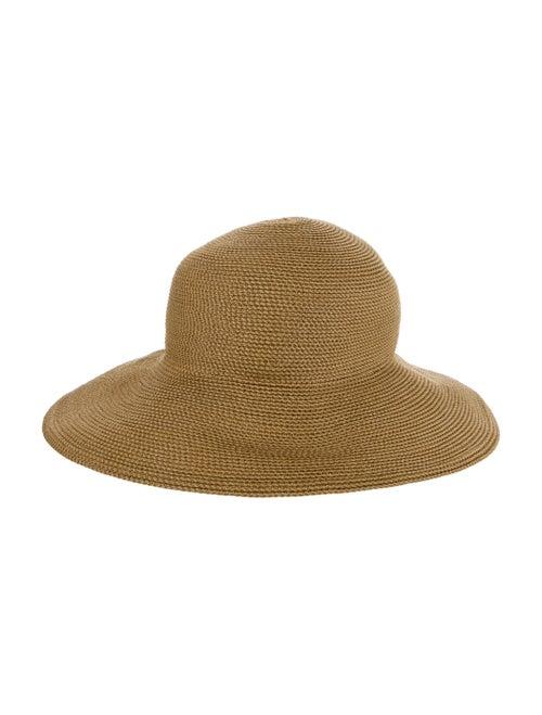 Eric Javits Wide Brim Hat Tan - image 1