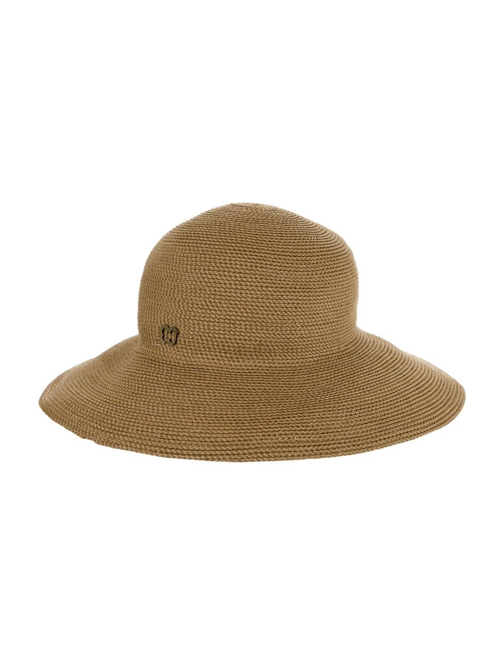Eric Javits Wide Brim Hat Tan - image 2