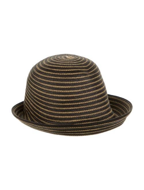 Eric Javits Wide Brim Hat Black