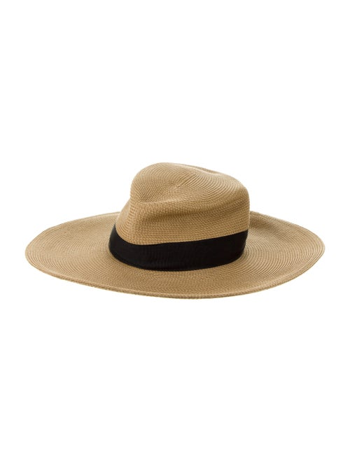 Eric Javits Woven Straw Hat Brown