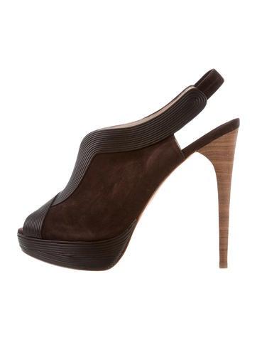 Elie Tahari Suede Slingback Sandals w/ Tags for sale for sale eOYcqg9NJ