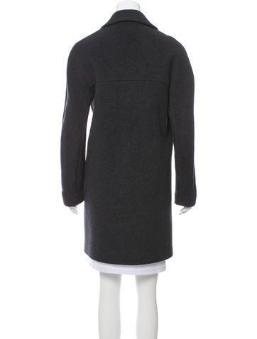 Knee-length Wool Coat