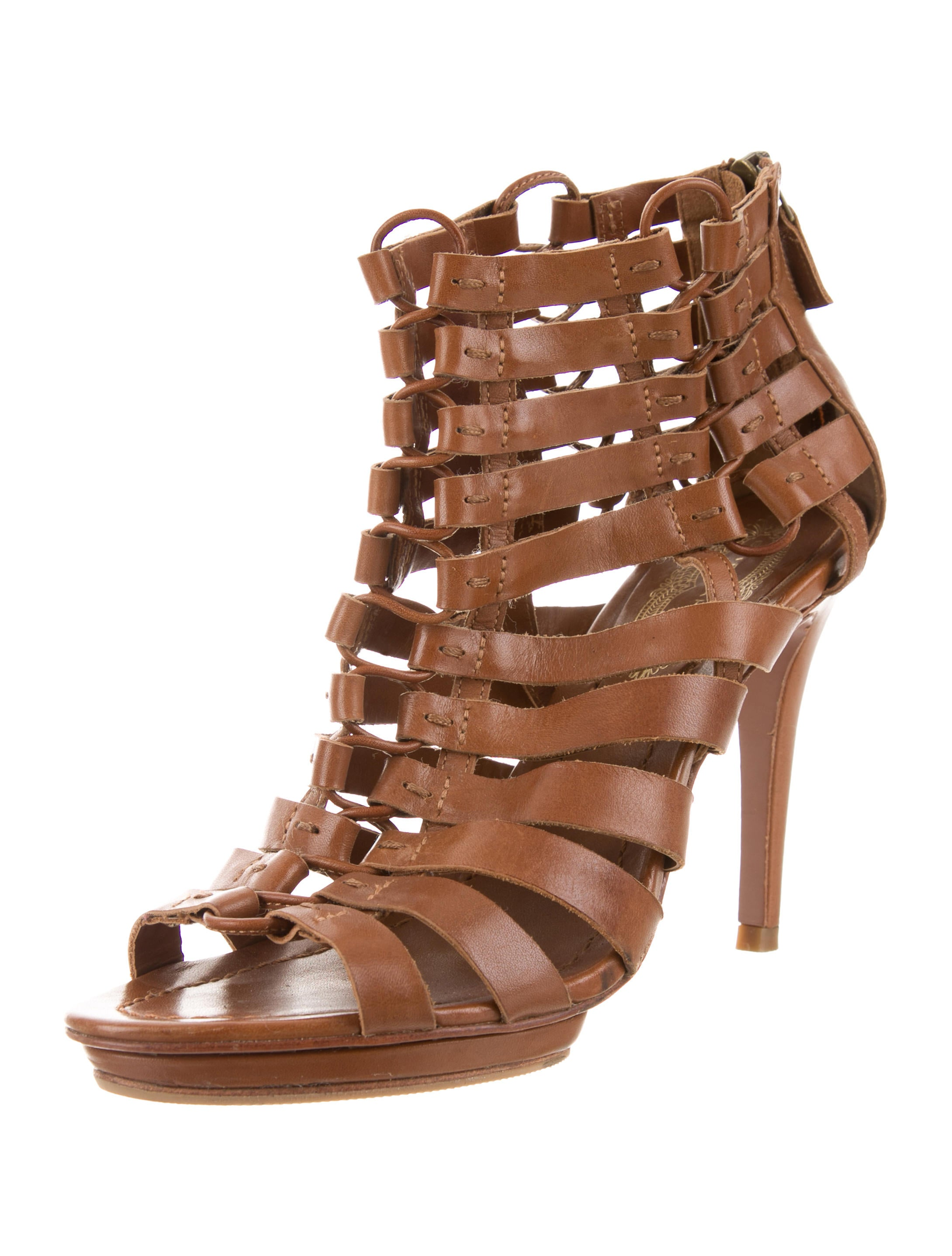 free shipping 2014 newest discount cheap online Elie Tahari Multistrap Leather Sandals gH4gj