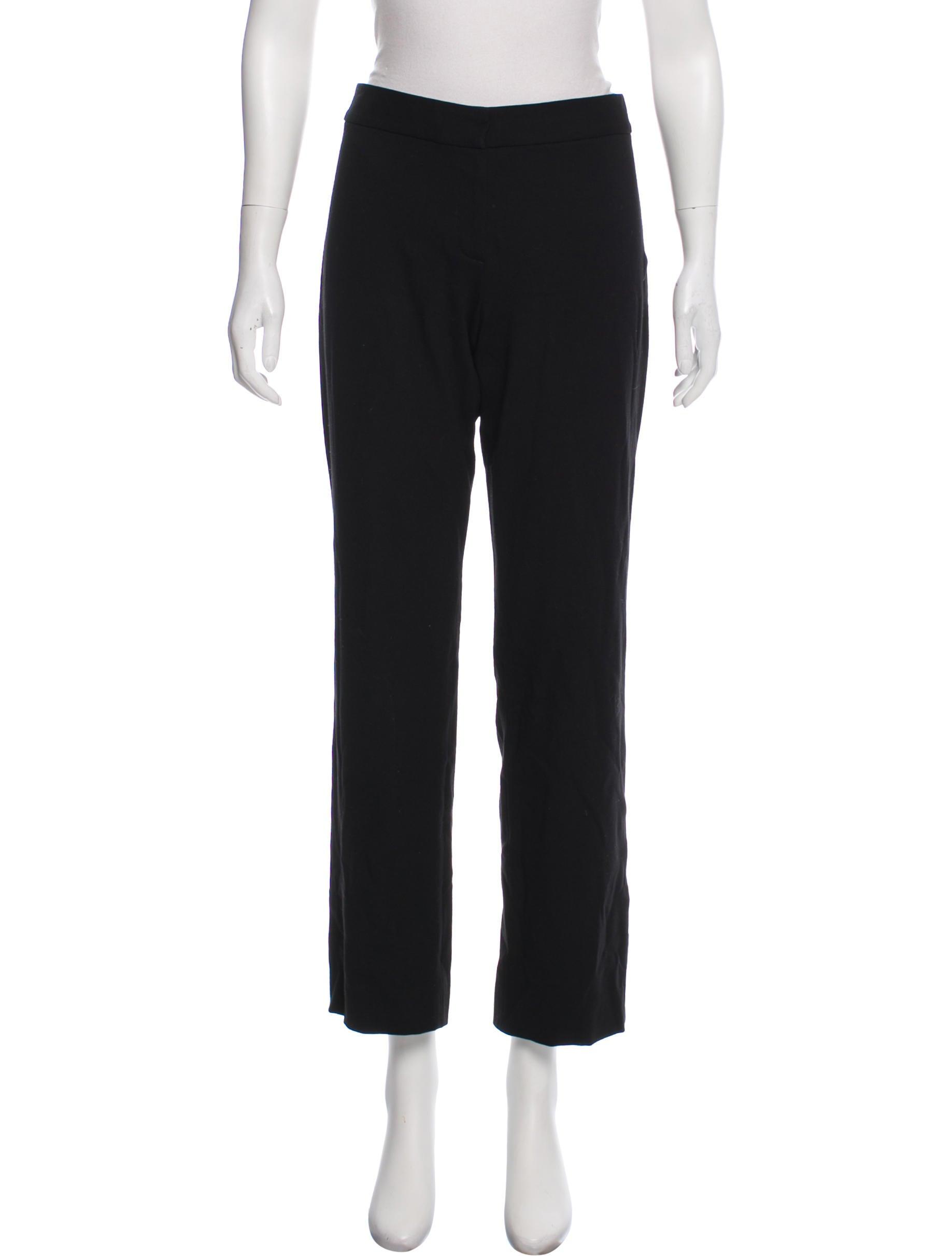 09e2fa18545e7 Elie Tahari Mid-Rise Straight-Leg Pants - Clothing - WEL24164