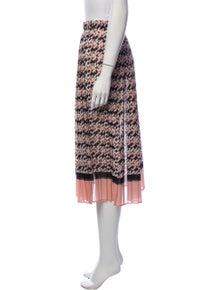 Elisabetta Franchi Printed Midi Length Skirt