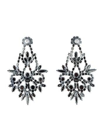 Crystal Indira Chandelier Earrings
