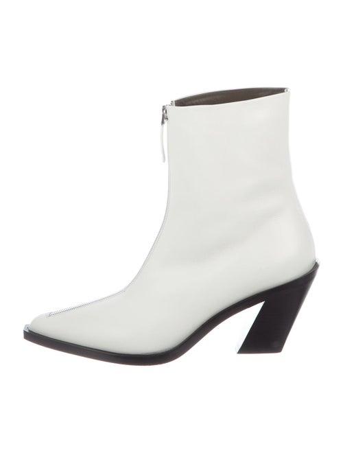 Elleme Leather Boots White