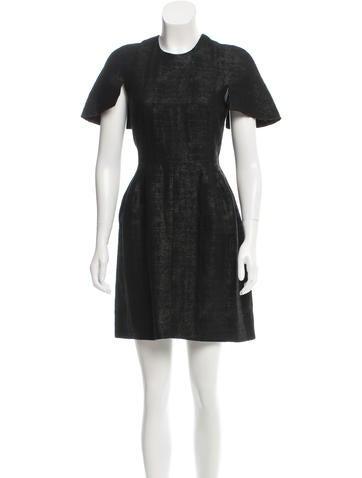 Ellery Textured Mini Dress None