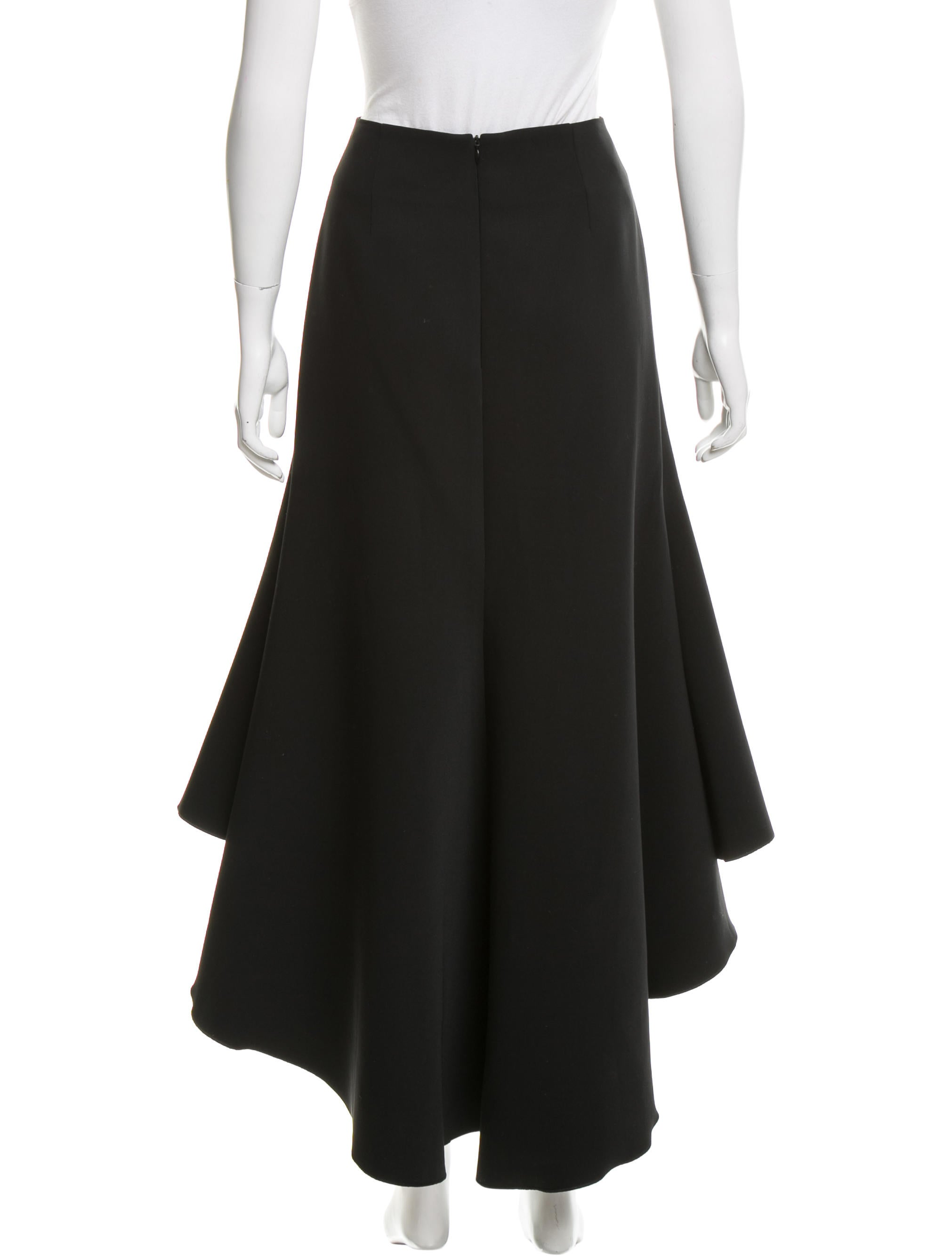 ellery fit and flare midi skirt clothing welly20474