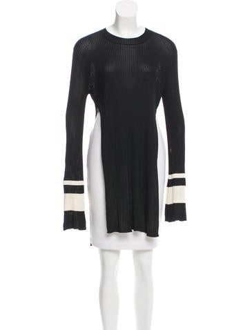 Ellery Bell Sleeve Sweater Tunic None