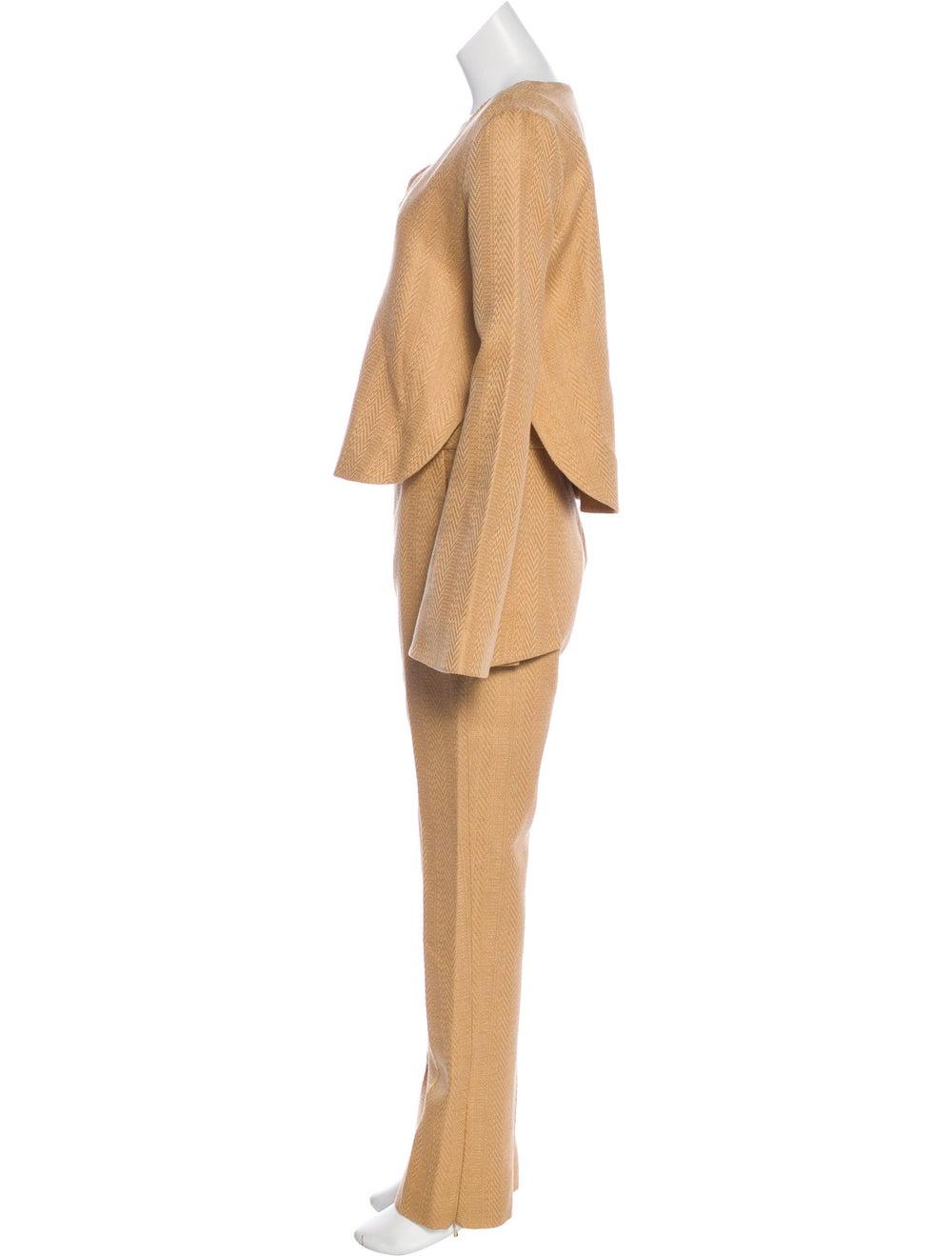 Ellery Tweed Pant Set w/ Tags Tan - image 2