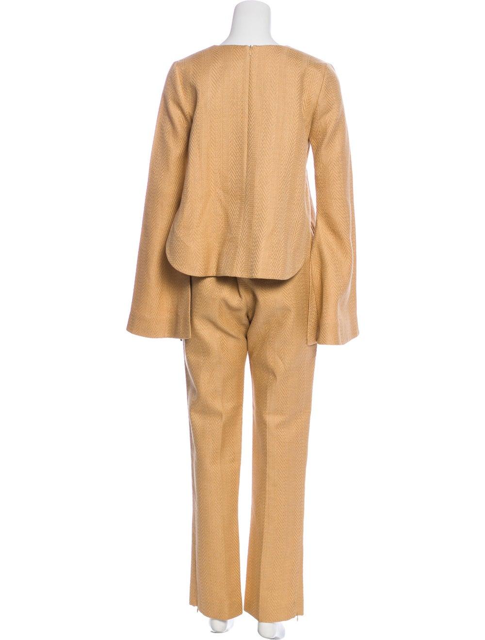 Ellery Tweed Pant Set w/ Tags Tan - image 3