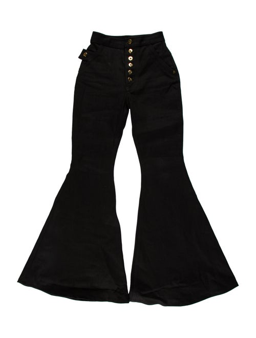 Ellery High-Rise Flared Jeans Black