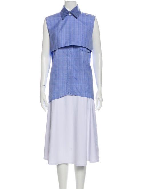 Ellery Sleeveless Tunic Blue