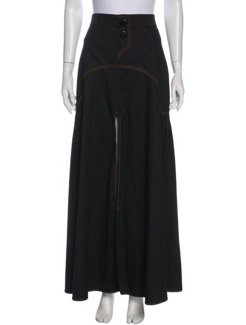 Ellery Long Skirt Black