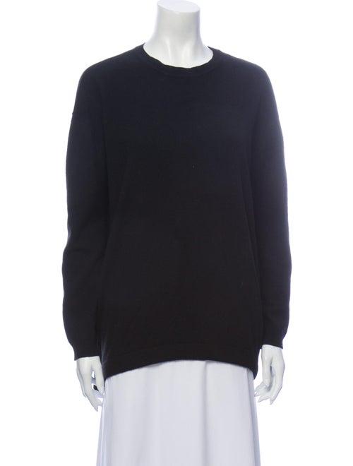 Ellery Cashmere Crew Neck Sweater Black