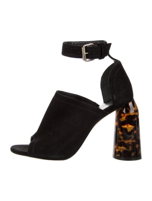 Ellery Suede Sandals Black