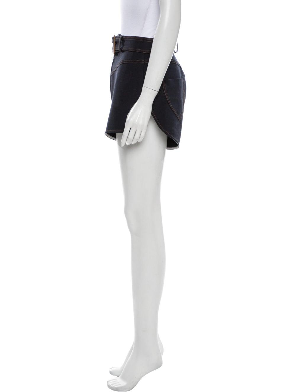 Ellery Mini Shorts Blue - image 2