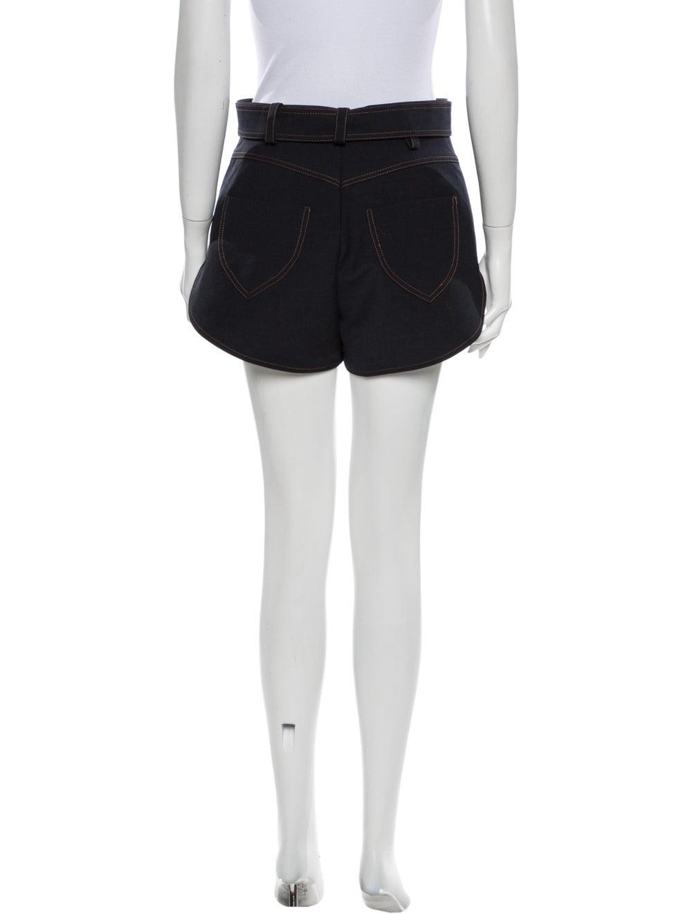 Ellery Mini Shorts Blue - image 3