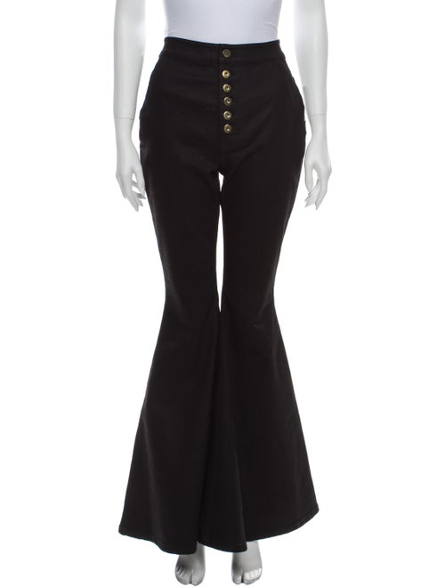 Ellery High-Rise Flared Jeans w/ Tags Black
