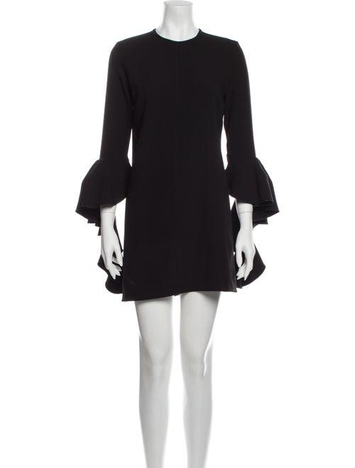 Ellery Crew Neck Mini Dress Black