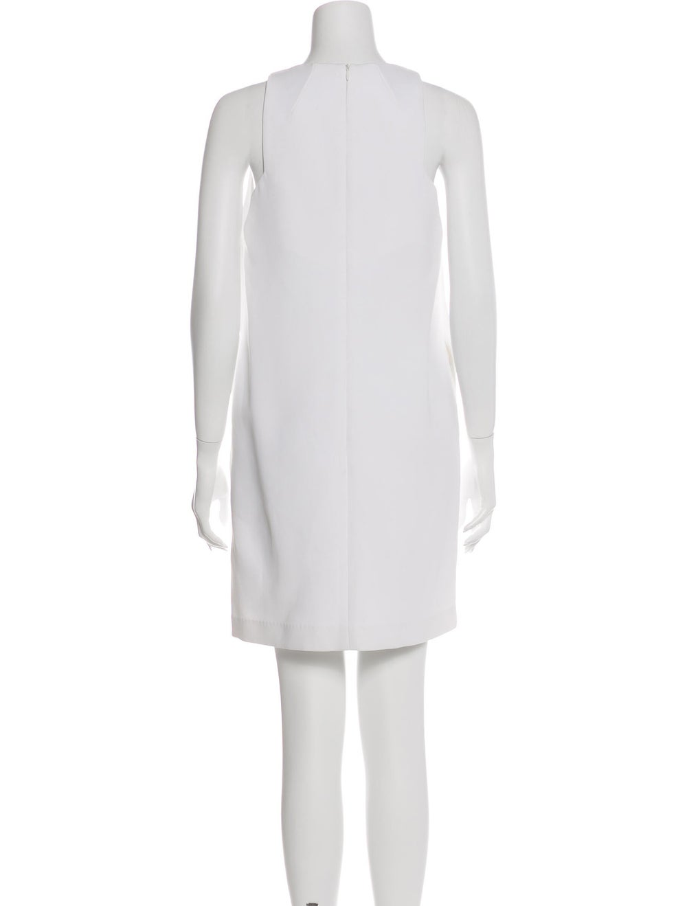 Ellery Plunge Neckline Mini Dress White - image 3